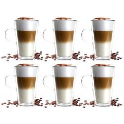 Filiżanki Termiczne Podwójne Ścianki Espresso Vialli 50ml 2szt.