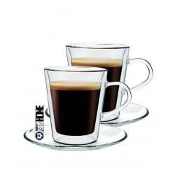 Szklanki termiczne do kawy Espresso 2szt
