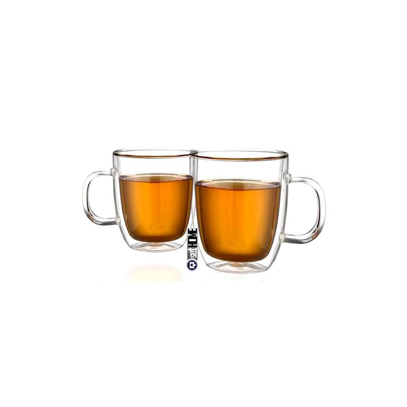 Szklanki Termiczne Do Herbaty Extra Tea Z Uchem 480ml 2szt